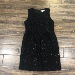 Michael Kors black sparkle dress